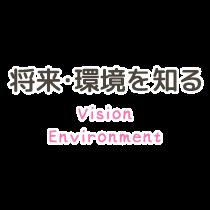 Environment 将来・環境を知る